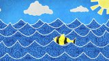 Fishes in the sea loopable animation