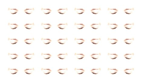 Multiple eyes 01 - editable clip, motion graphic, footage stock