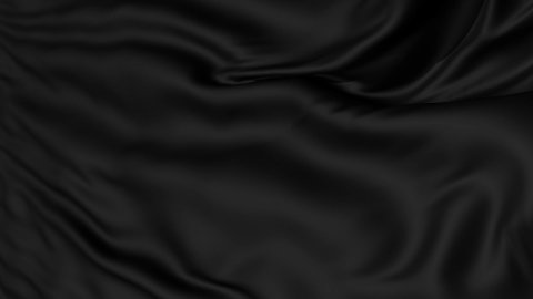 Black Fabric Textile Background LOOP - stock footage
