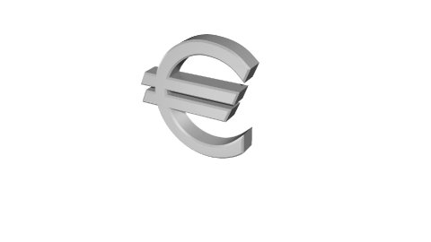 The Crumbling Euro - stock footage