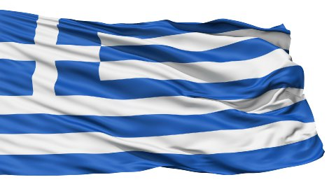 The Flag of Greece LOOP - stock footage