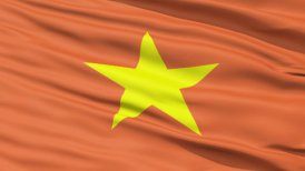 Yellow Star On Vietnam Flag