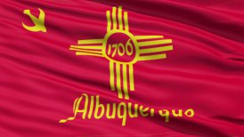 American State City Flag of Albuquerque
