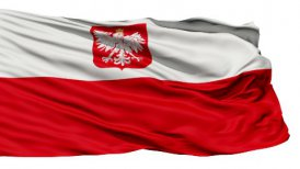Flag of Poland - motion graphic