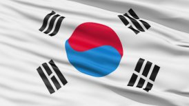 The South Korea Flag - motion graphic