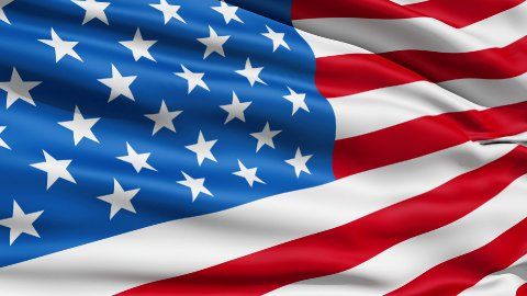 Waving Flag United States Of America - stock footage