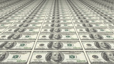 Large Sheet Uncut American Dollars - stock footage