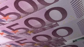 Texture Design 500 Euro Banknotes - motion graphic