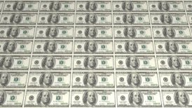 American Dollars Background - motion graphic