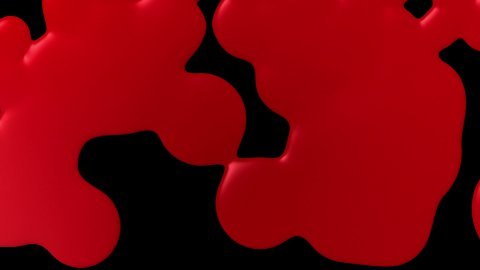 Blood transition 01 - stock footage