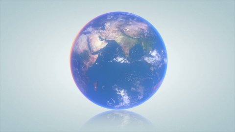Earth turn around - stock footage