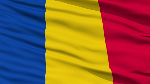 Waving national flag of Chad - stock footage