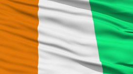 Waving national flag of Cote d'Ivoire