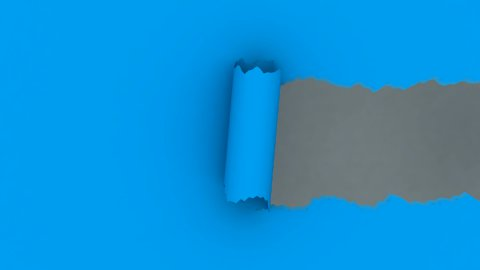 Torn Paper (Alpha) - stock footage