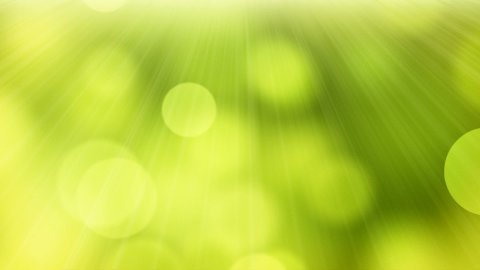 loopable abstract background slowly flying green yellow circle bokeh lights - stock footage
