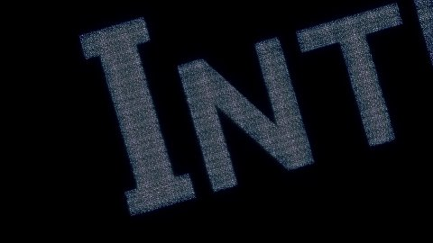 internet inscription from computer icons - stock footage