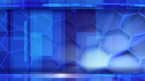 looping blue glossy high-tech background - stock footage
