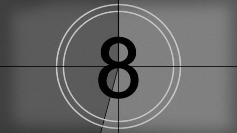 countdown old - stock footage