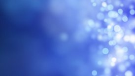 loopable abstract background blue bokeh circles - motion graphic