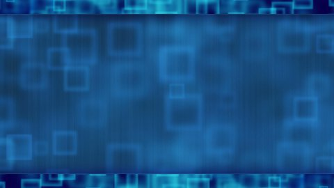 blue abstract loopable background flying squares - stock footage