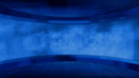 loopable blue hi-tech background - motion graphic