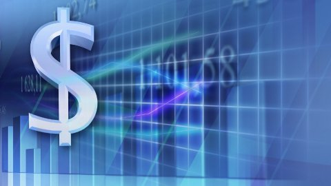 stock market statistic loopable business background - stock footage