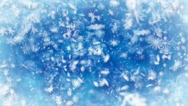 loopable snowfall wintry background