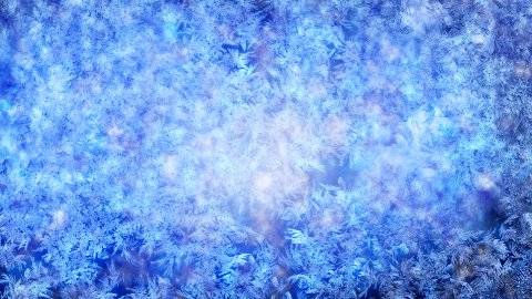 frost background with luma matte second half are loopable - stock footage
