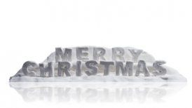 merry christmas happy new year clay greetings alpha - motion graphic