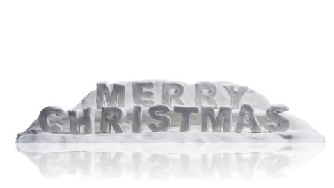 merry christmas happy new year clay greetings alpha - stock footage