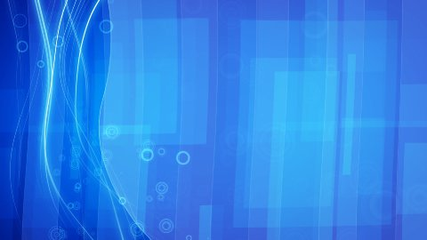 blue flowing lines and circles loop striped background - stock footage
