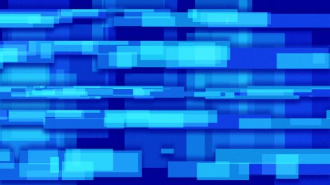 blue abstract loopable background rectangles - stock footage