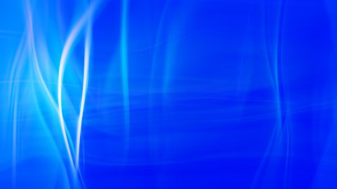 soft blue background seamless loop flowing lines - stock footage