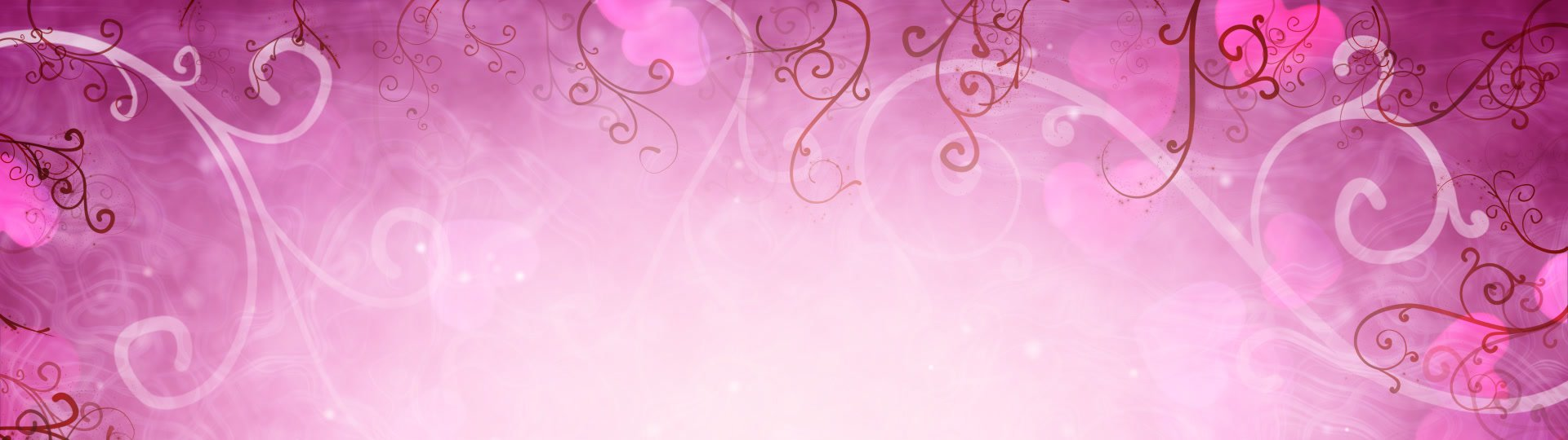 Hearts and flourishes loop romantic background | hearts and flourishes. Computer generated romantic motion seamless loop background - ID:12401