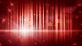 stars lights and vertical stripes red loop background - motion graphic