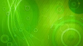 green circles and lines seamless loop background - motion graphic