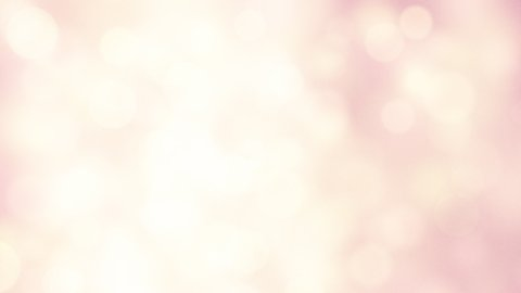 light-coloured pink yellow circle lights loopable background - stock footage