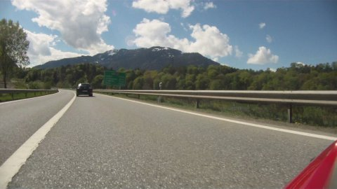 Across Switzerland, time lapse part 1 - stock footage