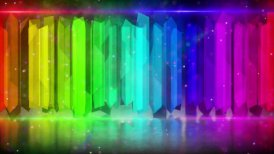 rainbow color elements abstract loopable background