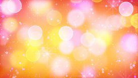 multicolour bokeh lights particles and starglow loop - motion graphic