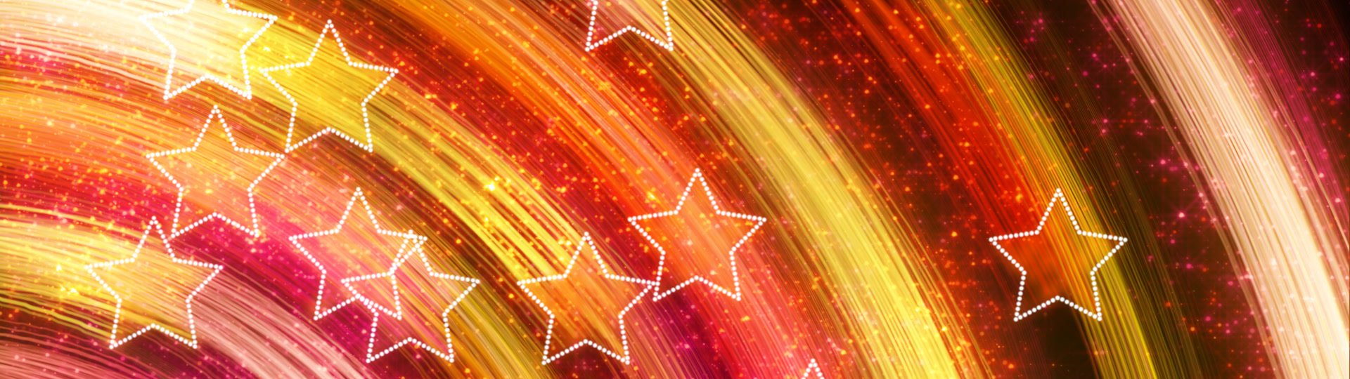 Disco stars abstract loopable background yellow pink | yellow pink disco stars. computer generated seamless loop abstract motion background. - ID:12830