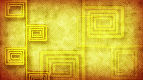 grunge flourish yellow loopable background - stock footage