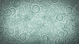 pale gray turquoise curles ornatment loop background - motion graphic