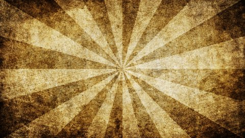brown grungy rays loop background - stock footage