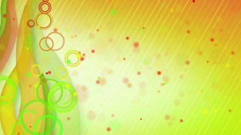 particles lines orange green loop background - stock footage