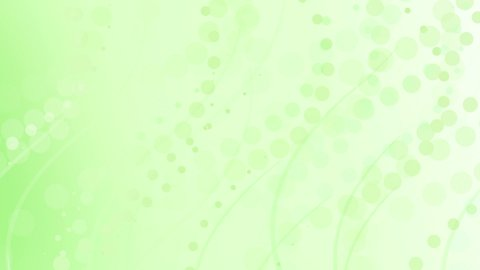 pale lime green curves and circles abstract background loop - stock footage