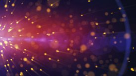 particles explosion background - motion graphic