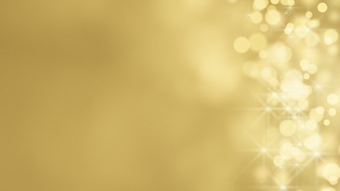 loopable abstract background gold bokeh circles - stock footage