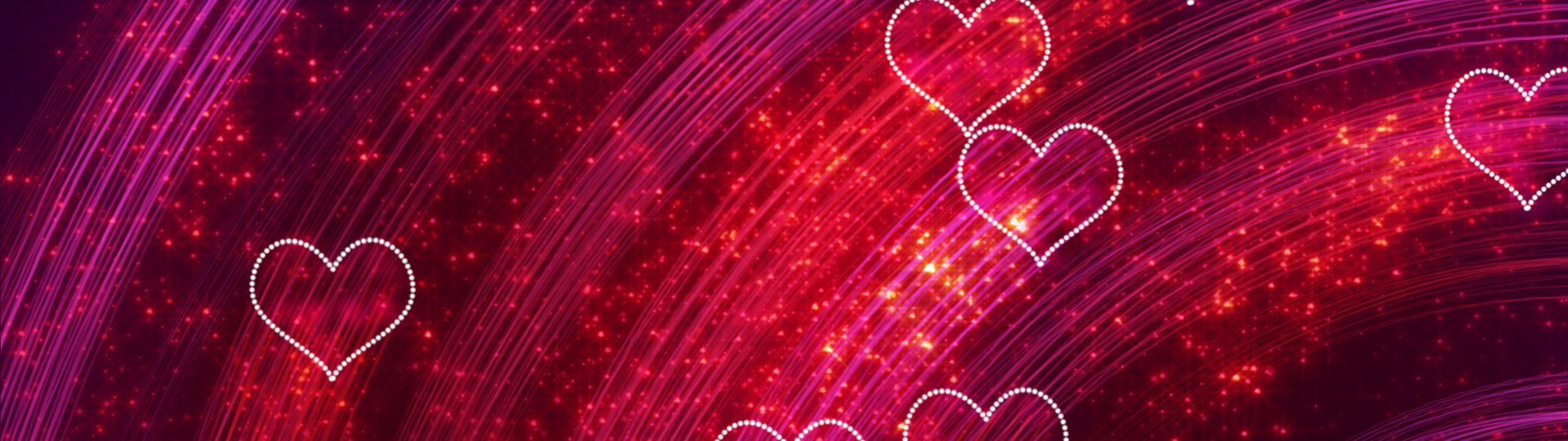 Heart shapes loopable romantic background | heart shapes. computer generated seamless loop romantic motion background HD 1080 progressive. - ID:12861