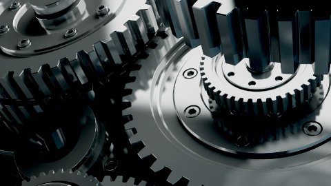 mechanisms of metal on the move - stock footage